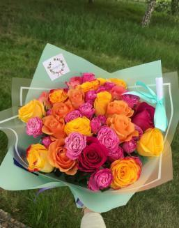 Bouquet from florist | Delivery and order flowers in Almaty