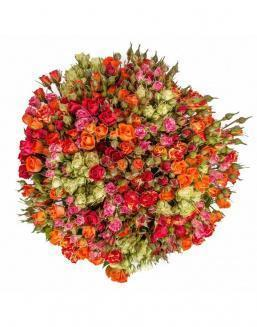 Bouquet of 51 spray roses | Delivery and order flowers in Almaty