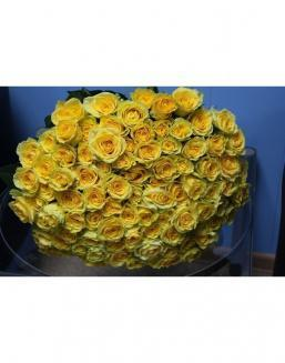 Bouquet 101 yellow roses | 101 roses expensive flowers