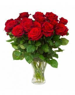 Bouquet of 15 red roses | Flowers for Birthday flowers