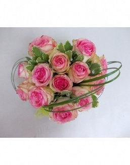 Gift Tenderness set of pink roses | Delivery and order flowers in Almaty