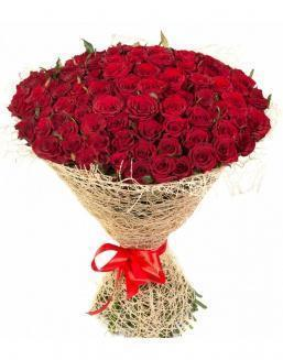 Bouquet of 101 red roses | 101 roses expensive flowers