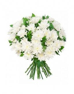 Bouquet of 15 chrysanthemums | Flowers for Birthday flowers