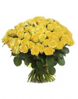 Bouquet of 101 yellow holland roses | 101 roses expensive flowers