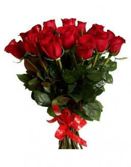 21 long red roses deluxe | Flowers for Birthday flowers